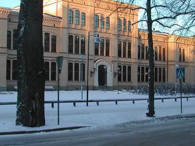 Cathedral School Uppsala Entranc