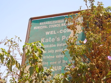 Kates Point Signpost - Mahabaleshwar - India