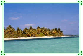 Kavaratti Ilha