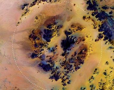 Kebira Crater Egypt