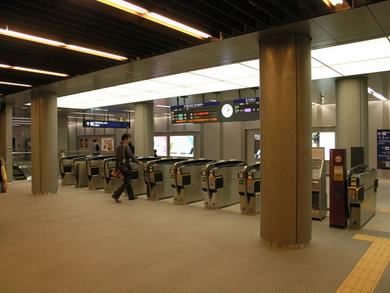 Watanabebashi Station Ticket Gate