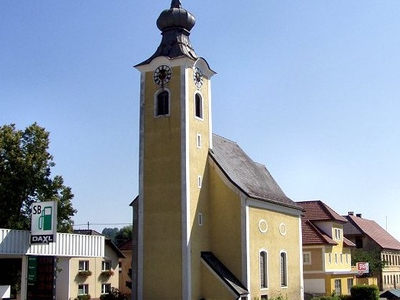 Kematen Market Church, Upper Austria, Austria