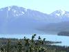 The Kenai Mountains And River