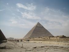 Khafres Pyramid At Giza