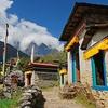 Khumbu Village In Sagarmatha NP Nepal