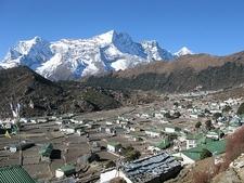 Khumjung Village Overview - Solukhumbu - Nepal