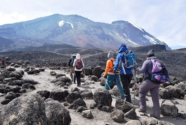 Mount Kilimanjaro Climb Machame Route Photos