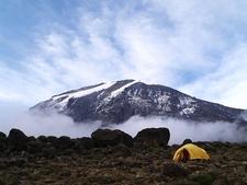 Kilimanjaro Morning View From Tanzania