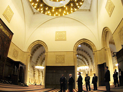 King Hussein Bin Talal Mosque Amman