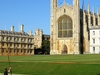 Kings College Chapel Seen From The Backs
