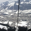 Kitzbüheler Horn Seen From Cable Car To The Hahnenkamm.