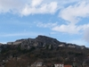 Knin Fortress From The City Center