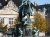 The Equestrian Statue Of Christian V