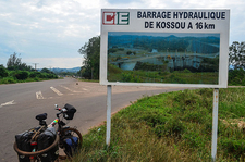 Kossou Power Station Sign