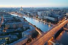Kotelnicheskaya Embankment By Moskva River