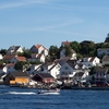 Øya In Kragerø Seen From The Town