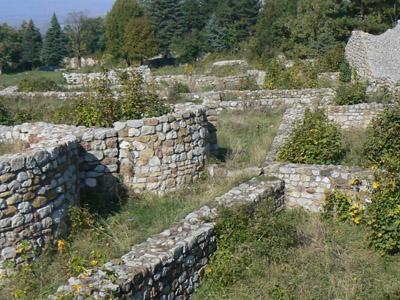 The Medieval Bulgarian Fortress Of Krakra