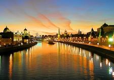 Kremlin Embankment - Moskva River