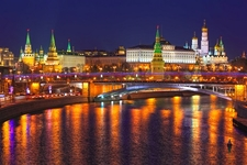 Kremlin In Moscow - Winter View