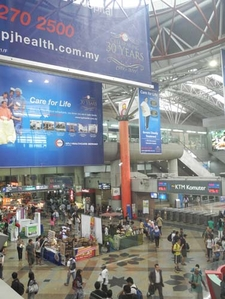 Kuala Lumpur Sentral Station Inside View