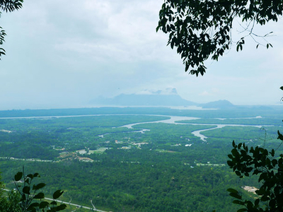 Kubah National Park Mountain Santubong View