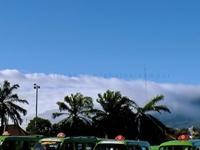 Kujang Statue Mount Salak And Angkot