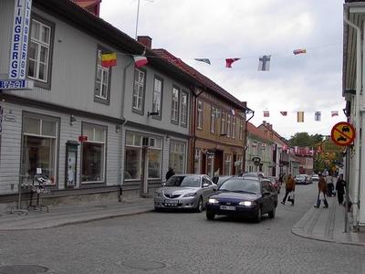 Kungsgatan In Lindesberg