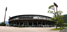 Front Of Baseball Complex