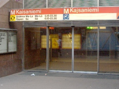 Entrance At Ground Level