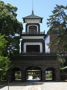 Oyama Shrine Main Gate