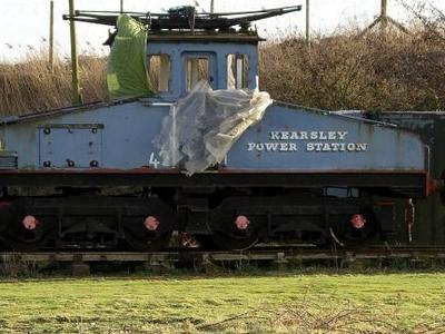 Kearsley Power Station Loco