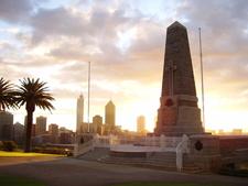 Kings Park War Memorial Sunrise