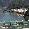 Kiso River And Bridge