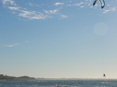 Kitesurfing At Rye