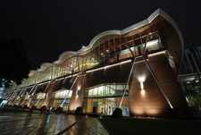 Convention Centre East Wing At Night