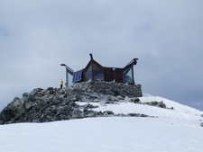 The Cabin On Top Of Galdhøpiggen