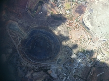 Koffiefontein Diamond Mine From The Air