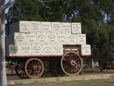 Big Wool Wagon Of Kojonup