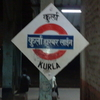 Kurla Harbour Line Platform Board