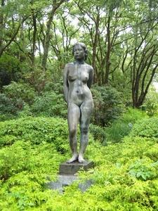 Statue At Garden