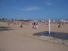 La Barceloneta Beach Shower