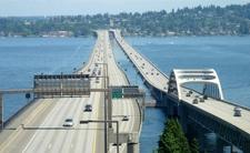 Lacey V. Murrow Memorial Bridge Right