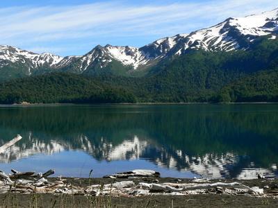 Sierra Nevada And Lake Conguillio