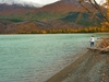 Lake Along Seward Highway In Alaska