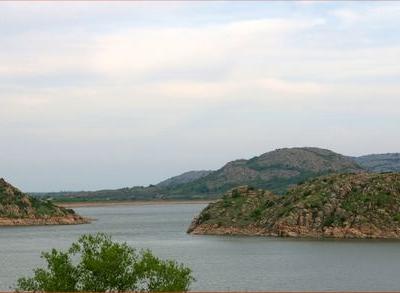 Lake Altus Lugert Looking South