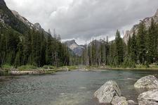 Lake Creek - Woodland Trail Loop Views - Grand Tetons - Wyoming - USA