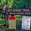 Lake George Trail Sign