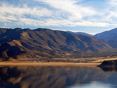 Lake  Isabella  California Eastern Portion