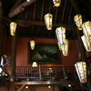 Lake McDonald Lodge Ceiling Lanterns - Glacier - USA