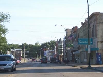 Lake Mills Wisconsin Downtown